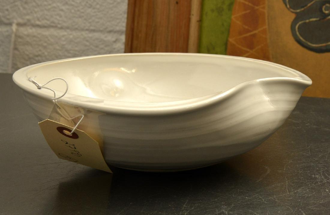 Kumamoto Kiichi, studio ceramic bowl - 3