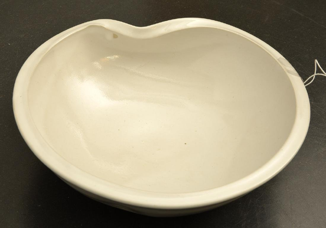 Kumamoto Kiichi, studio ceramic bowl - 4