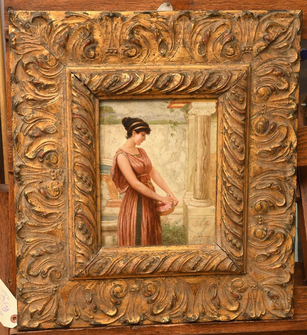 Manner of Godward, painting
