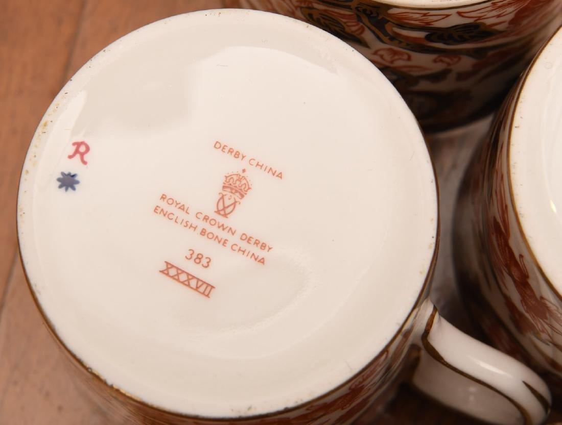 Derby, Davenport, & Aynsley Imari porcelains group - 10