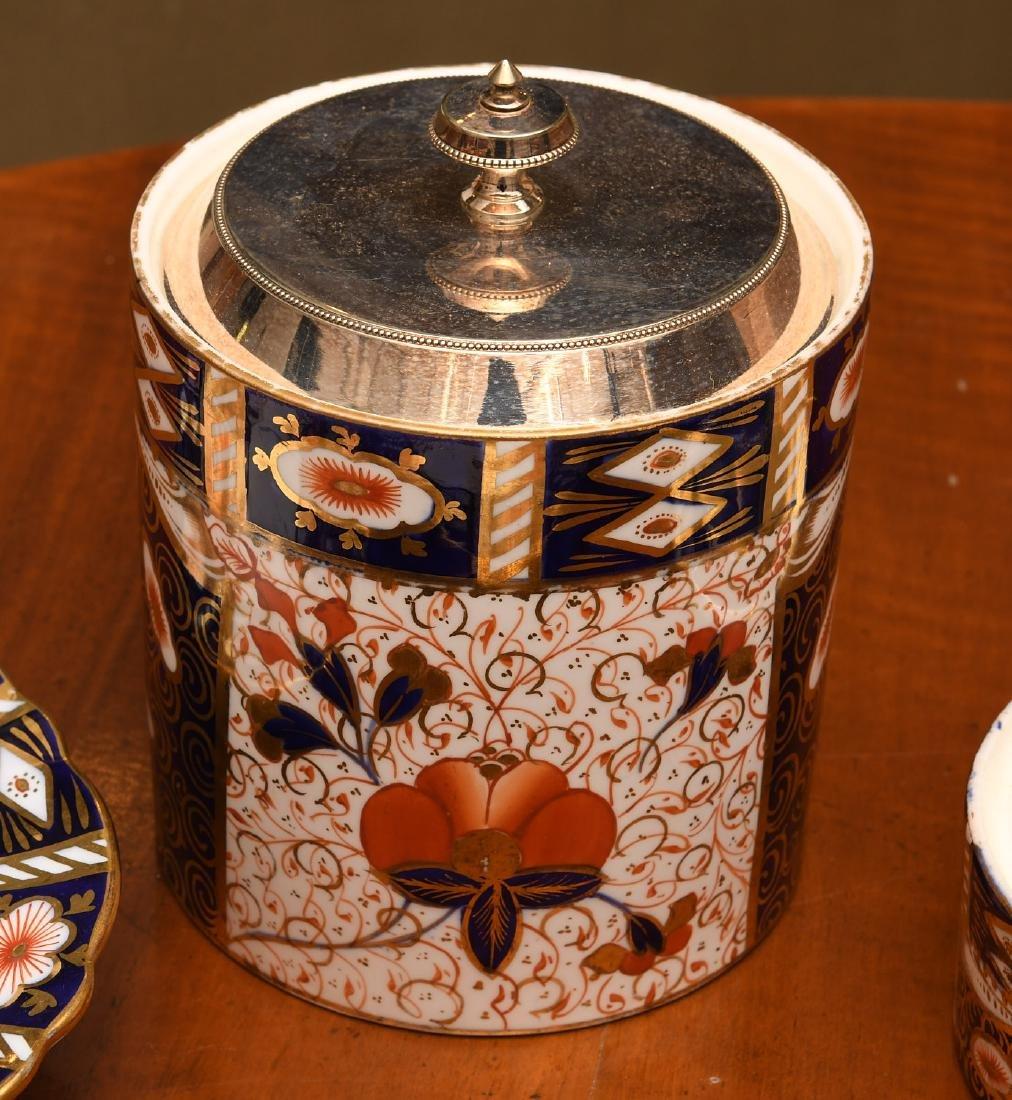 Derby, Davenport, & Aynsley Imari porcelains group - 2