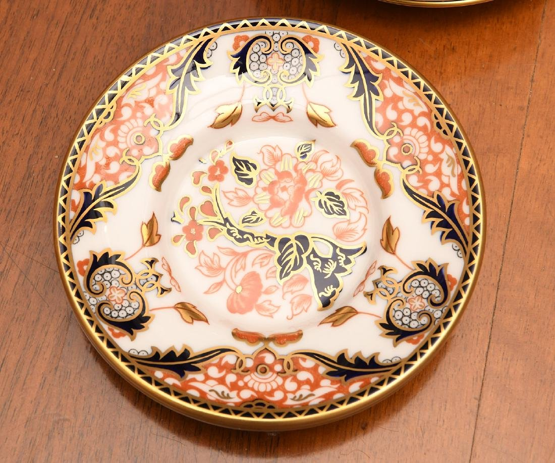 Derby, Davenport, & Aynsley Imari porcelains group - 4