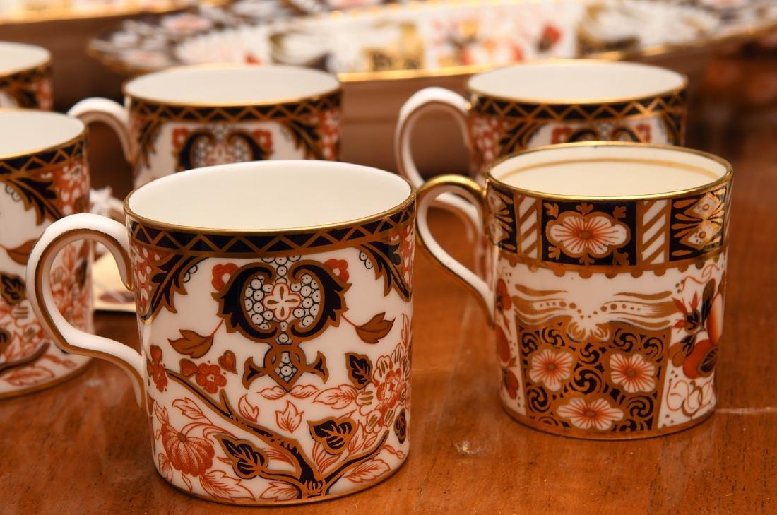 Derby, Davenport, & Aynsley Imari porcelains group - 5