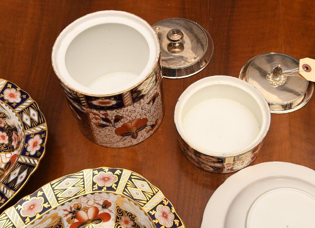 Derby, Davenport, & Aynsley Imari porcelains group - 6