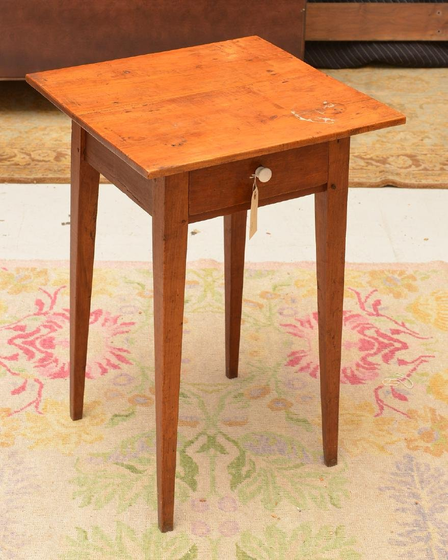 Antique Shaker style pine side table
