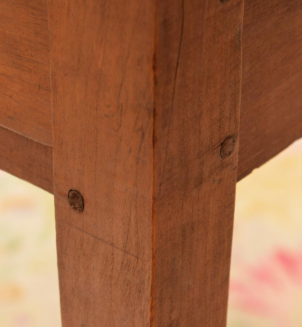Antique Shaker style pine side table - 3