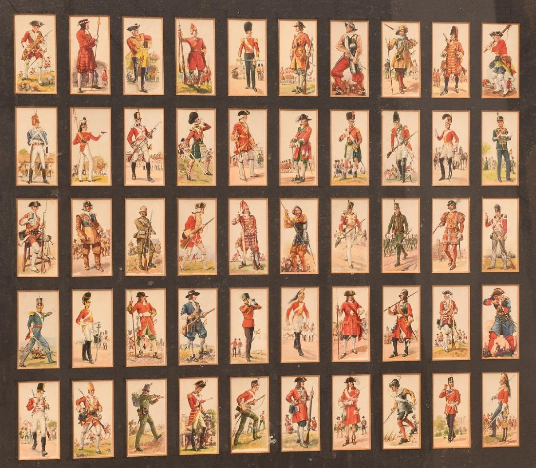 Collection British Player's Cigarette cards - 7