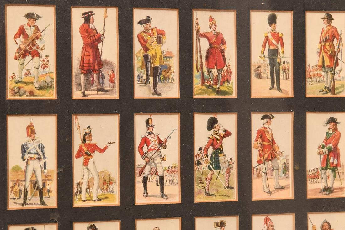 Collection British Player's Cigarette cards - 8