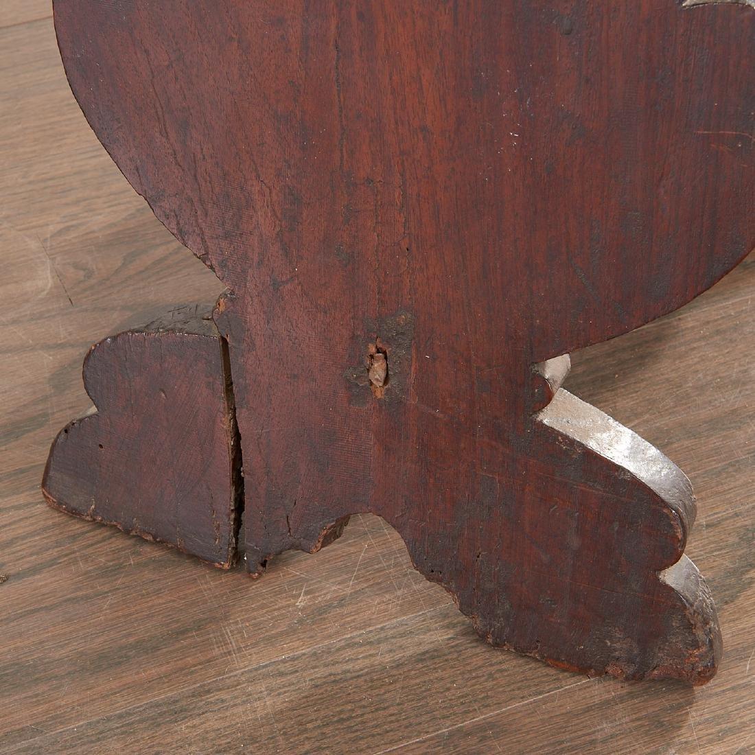Pair Italian walnut Sgabello chairs - 8