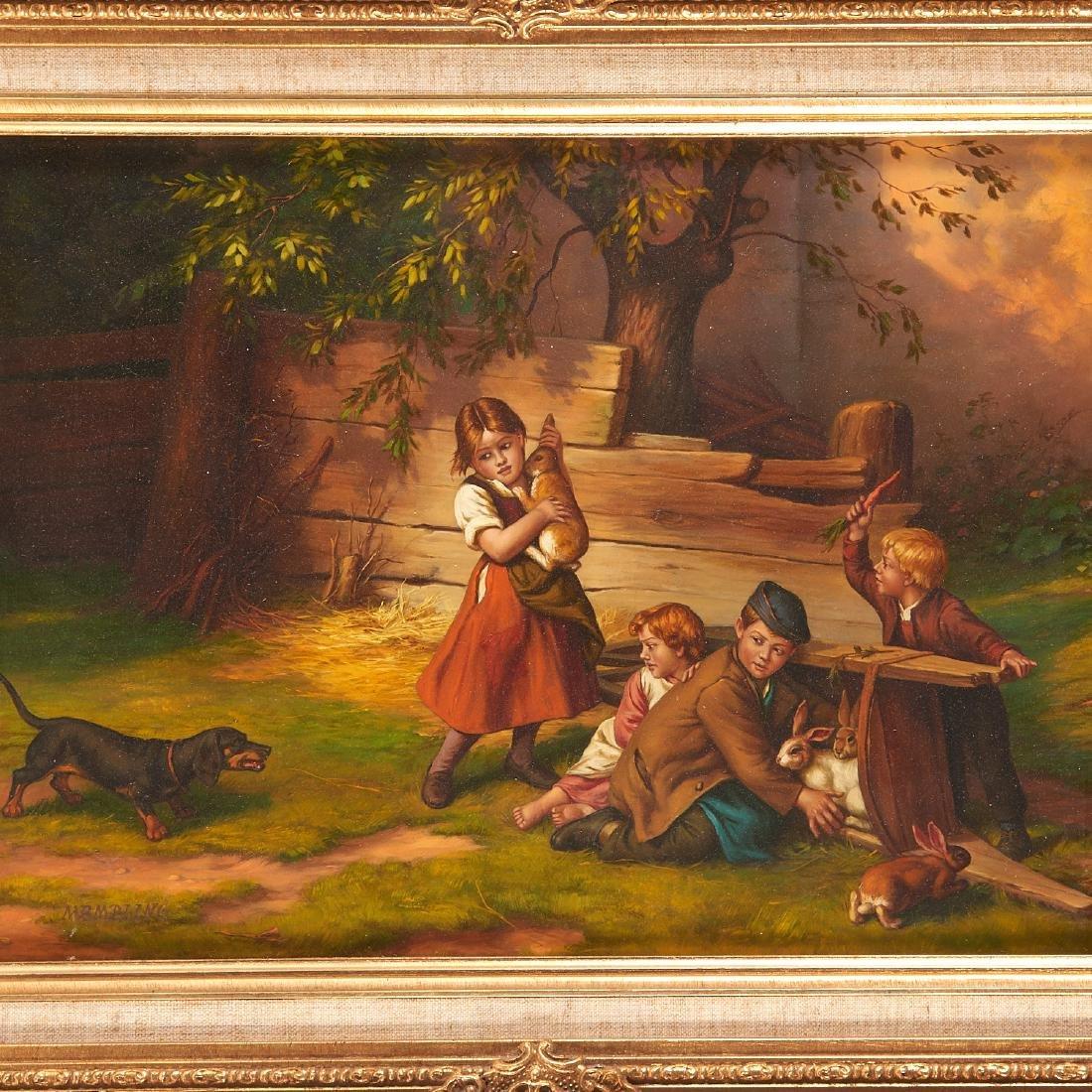 Jacob Membling, painting - 2