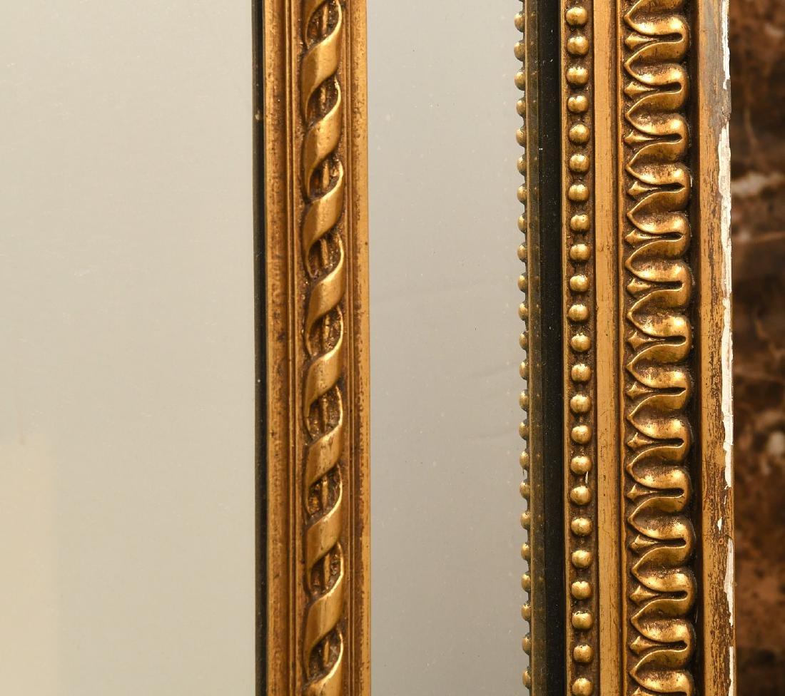 Paladio Italian giltwood and gesso wall mirror - 4