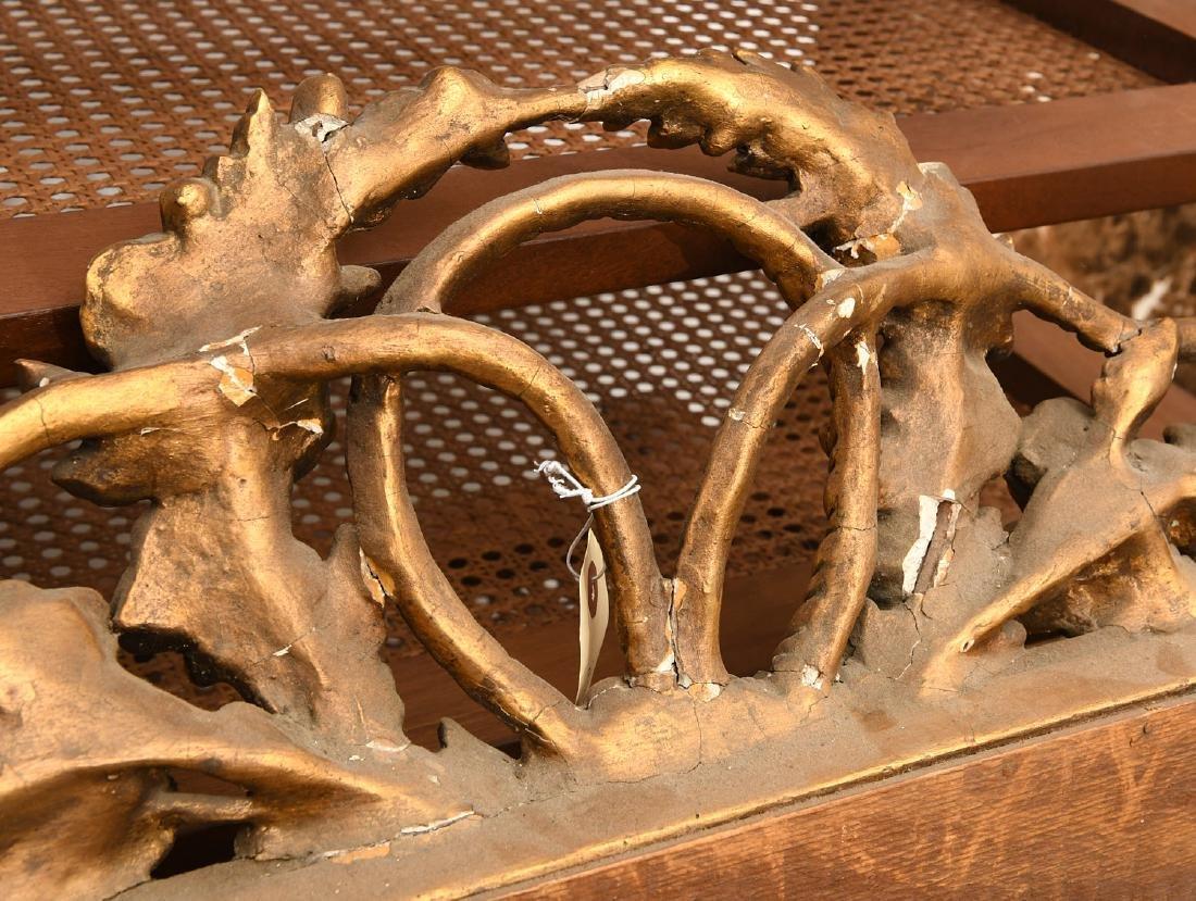 Paladio Italian giltwood and gesso wall mirror - 7