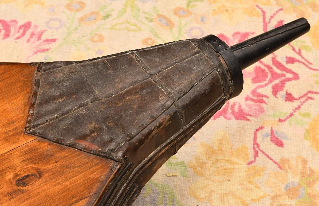 Blacksmith's bellows coffee table - 3