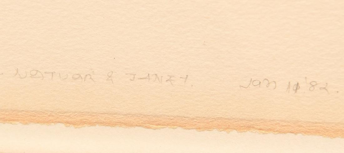 Natvar Bhavsar, serigraph - 5
