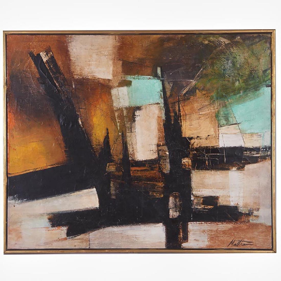 Matthew D. Carone, painting