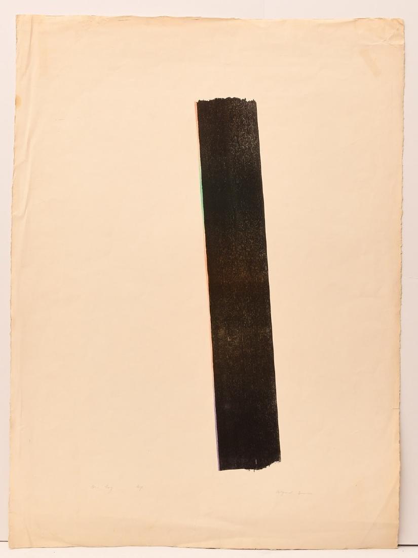 Ernest Alfred Dunn, lithograph