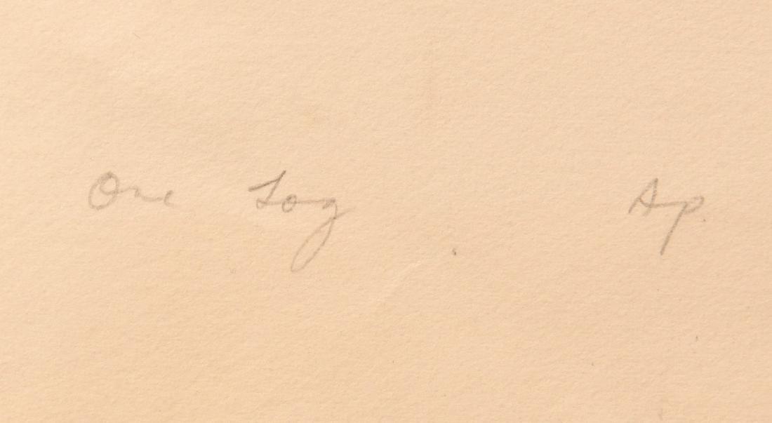Ernest Alfred Dunn, lithograph - 5
