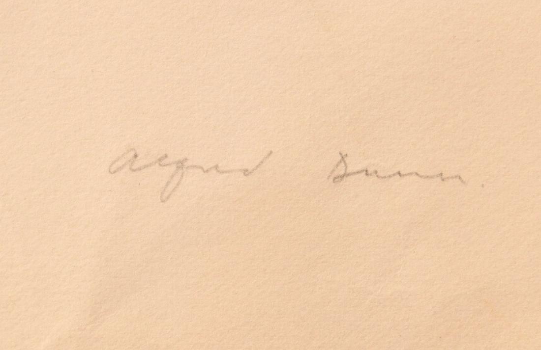 Ernest Alfred Dunn, lithograph - 6