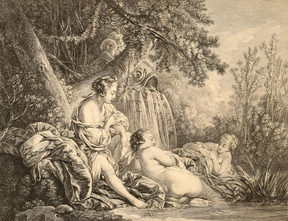 After Boucher, (2) engravings - 3