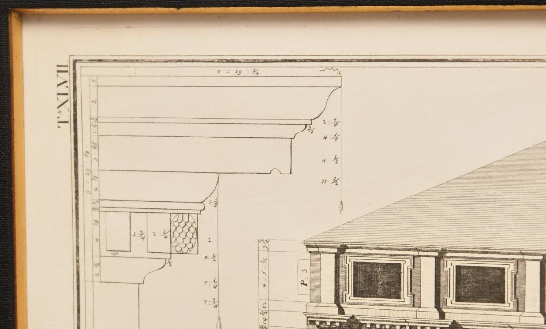 (2) Architectural prints of Palladian villas - 4