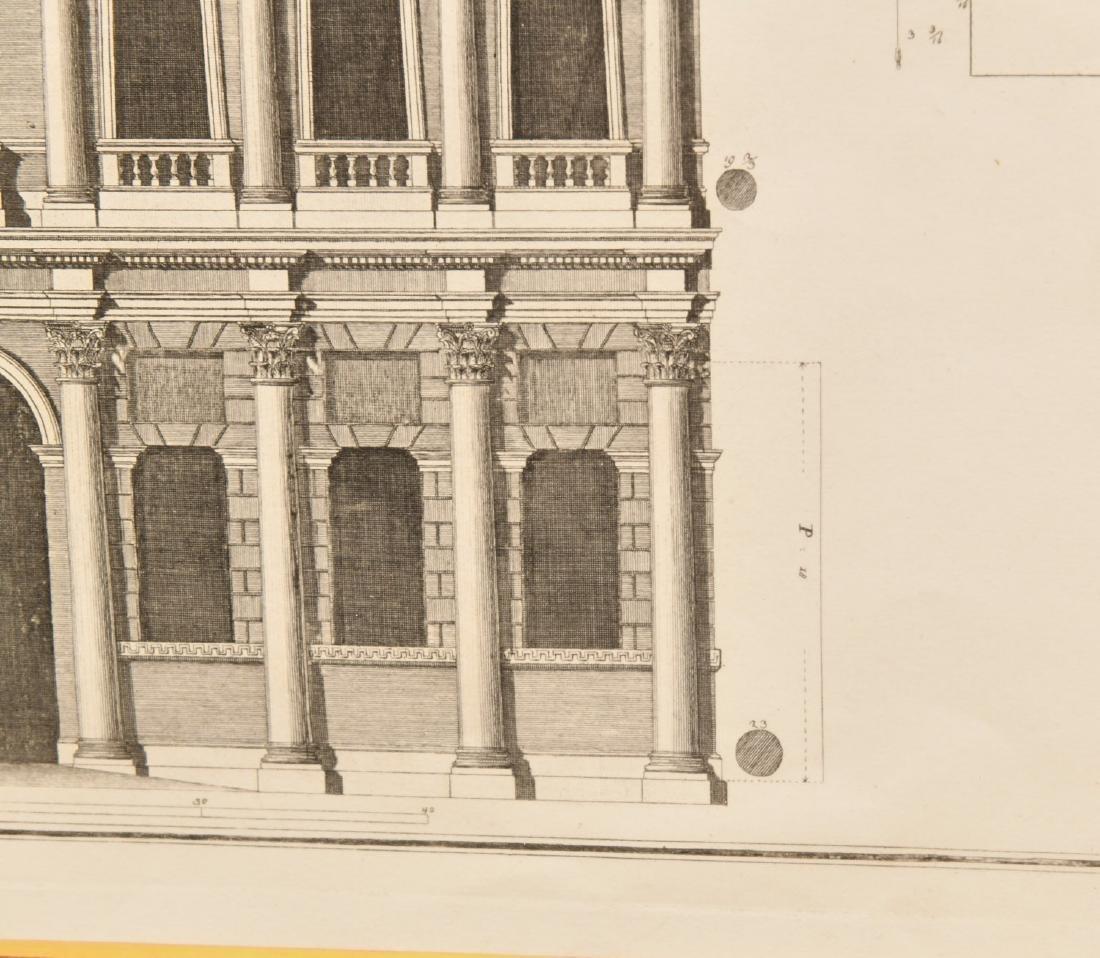 (2) Architectural prints of Palladian villas - 5