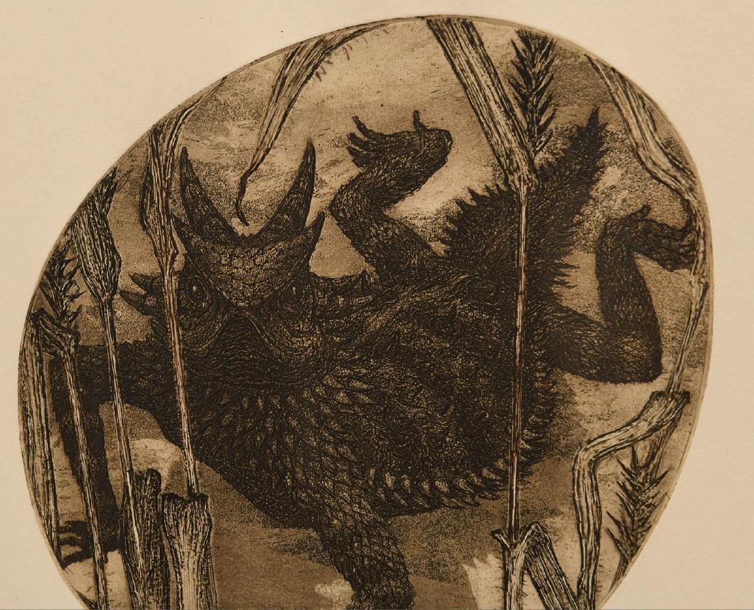 Janet Elizabeth Turner, etching - 3