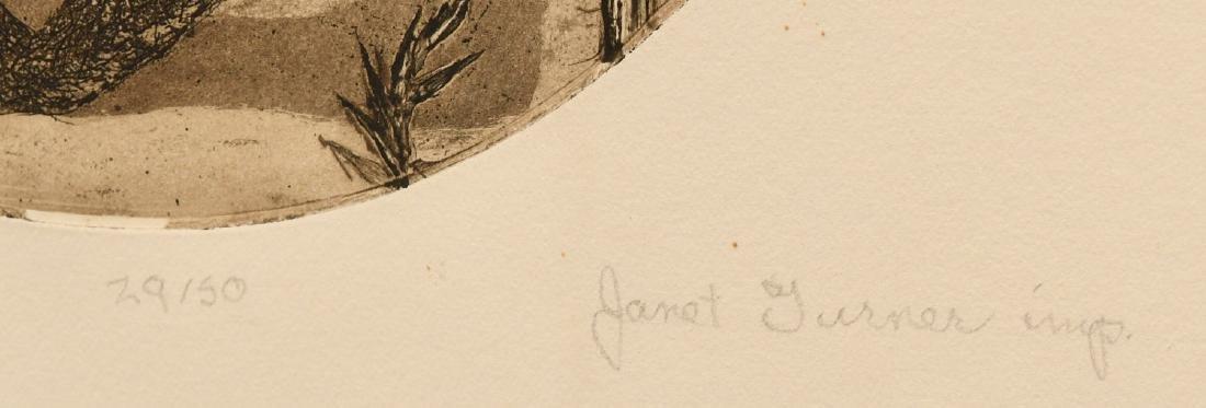 Janet Elizabeth Turner, etching - 5