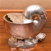 Sheffield silver plate spoon warmer