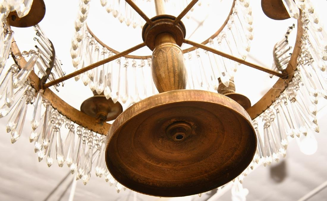 Baltic Neo-classical style bronze candelabrum - 10