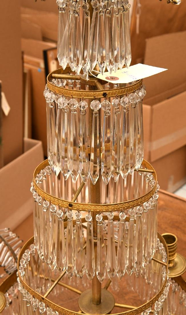 Baltic Neo-classical style bronze candelabrum - 4