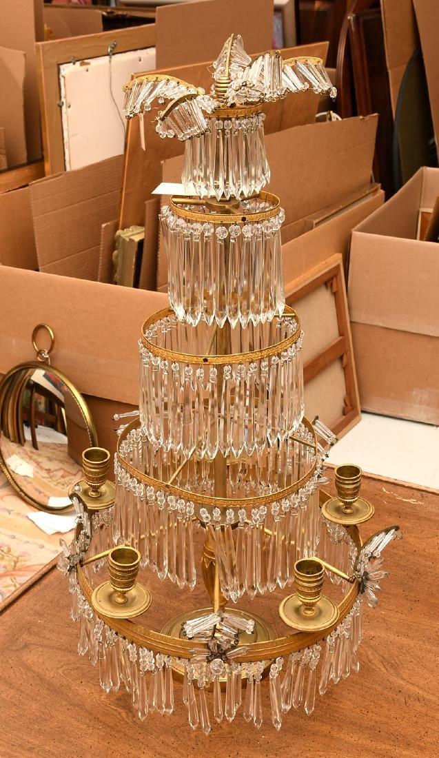 Baltic Neo-classical style bronze candelabrum - 5