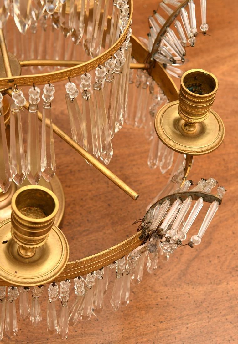 Baltic Neo-classical style bronze candelabrum - 6