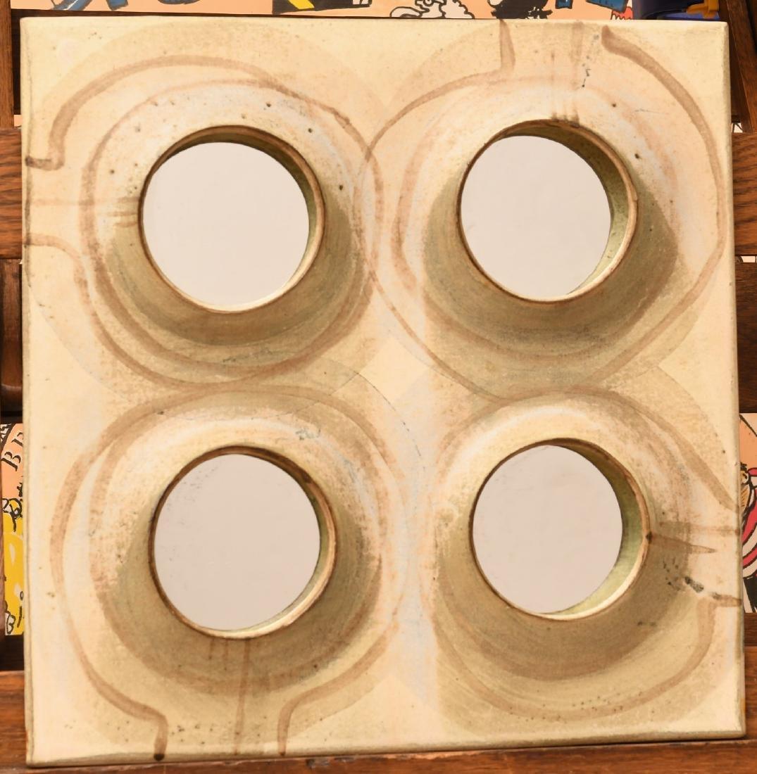 Studio Pottery mirror attrib. to Michel Cohen