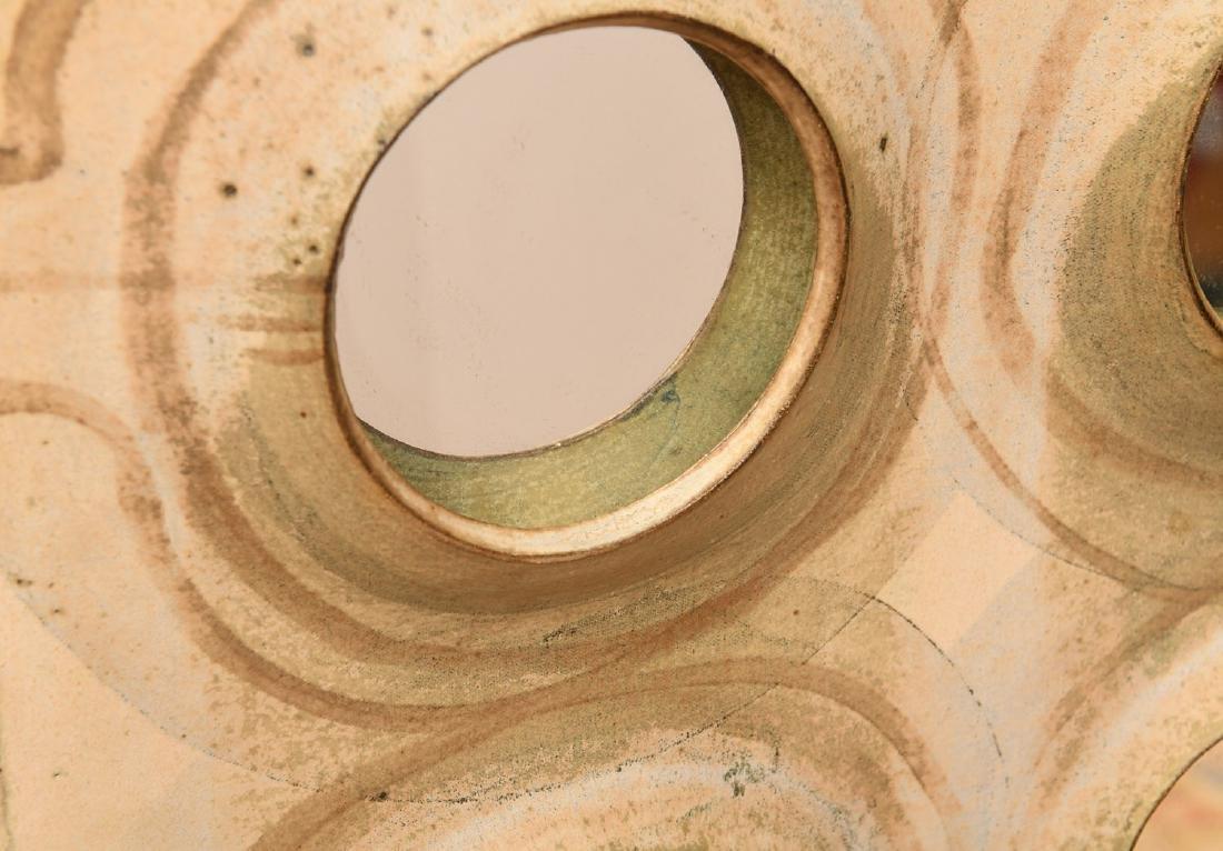 Studio Pottery mirror attrib. to Michel Cohen - 2