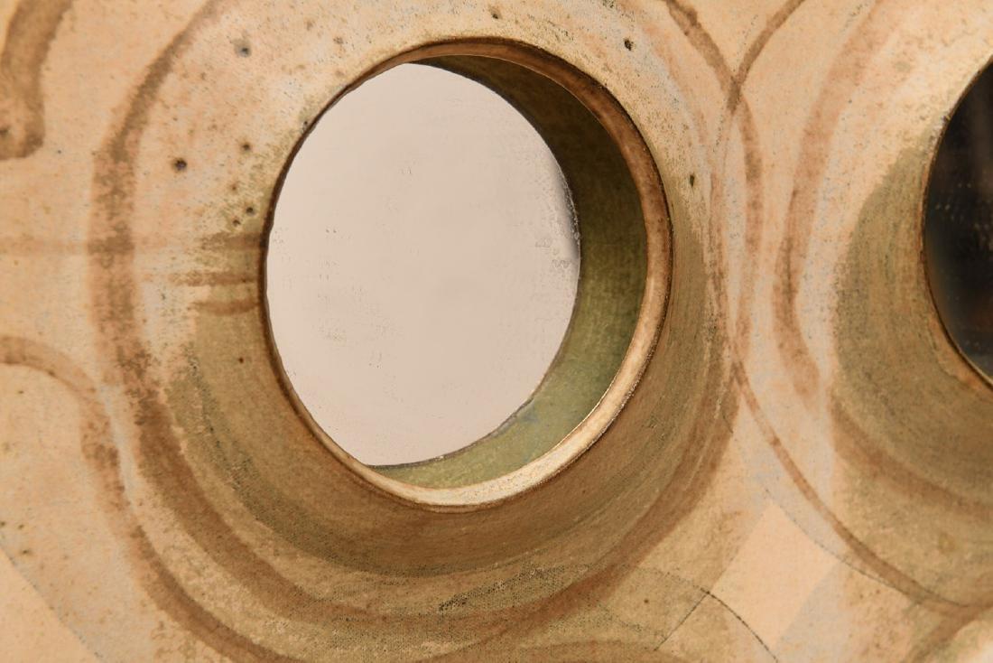 Studio Pottery mirror attrib. to Michel Cohen - 3