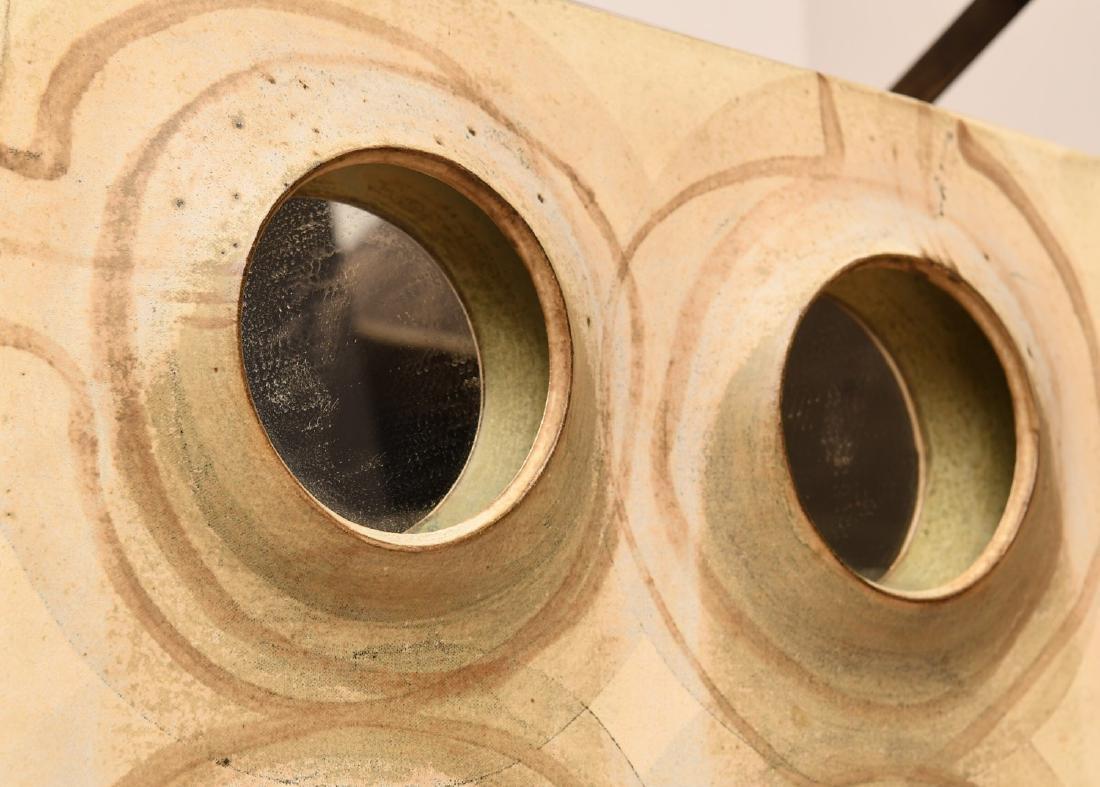 Studio Pottery mirror attrib. to Michel Cohen - 4