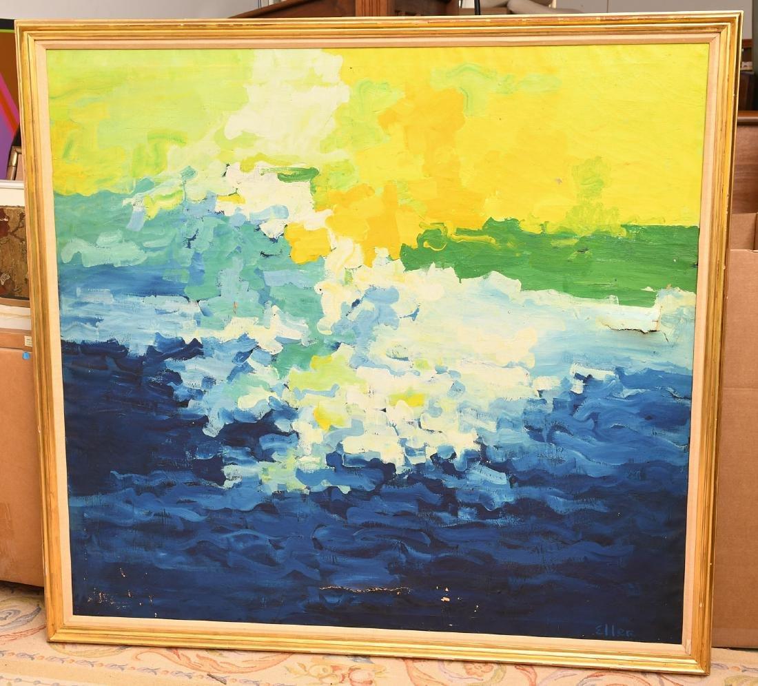 Evelyn Eller, large painting