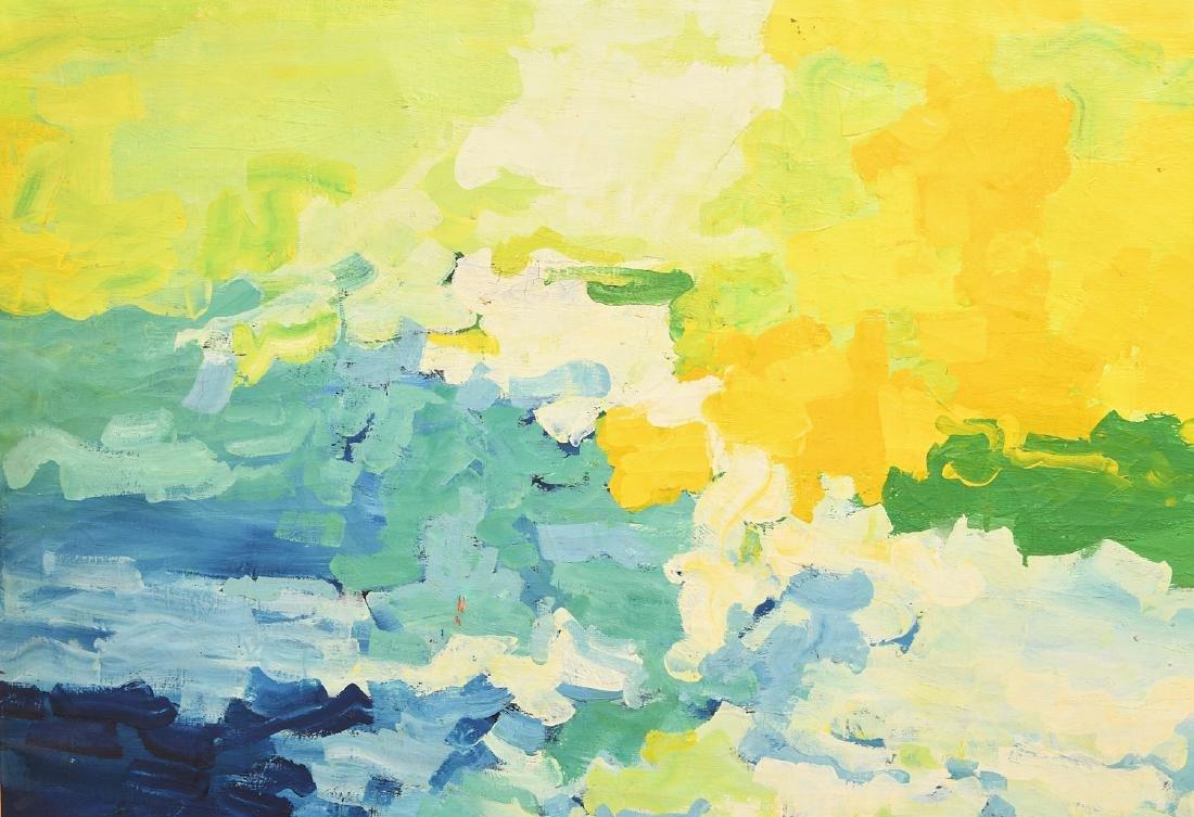 Evelyn Eller, large painting - 2