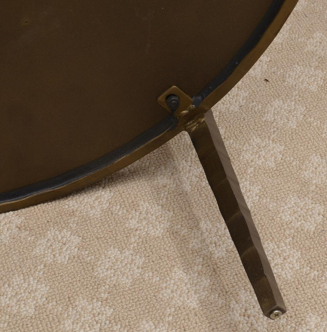 Baker smoked glass side table - 8