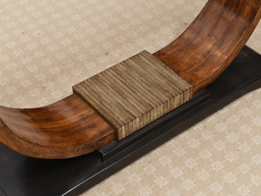 Bausman & Co. Art Deco style console table - 2
