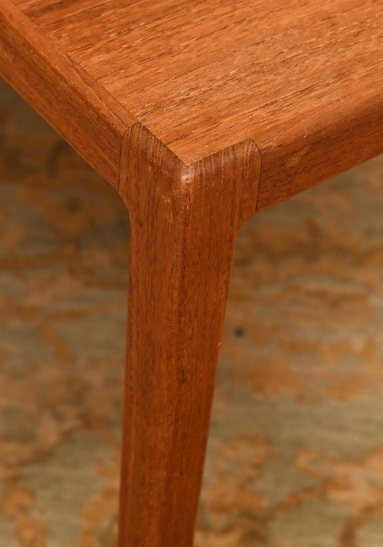 Set (3) Ludvig Pontoppidan teak nesting tables - 3