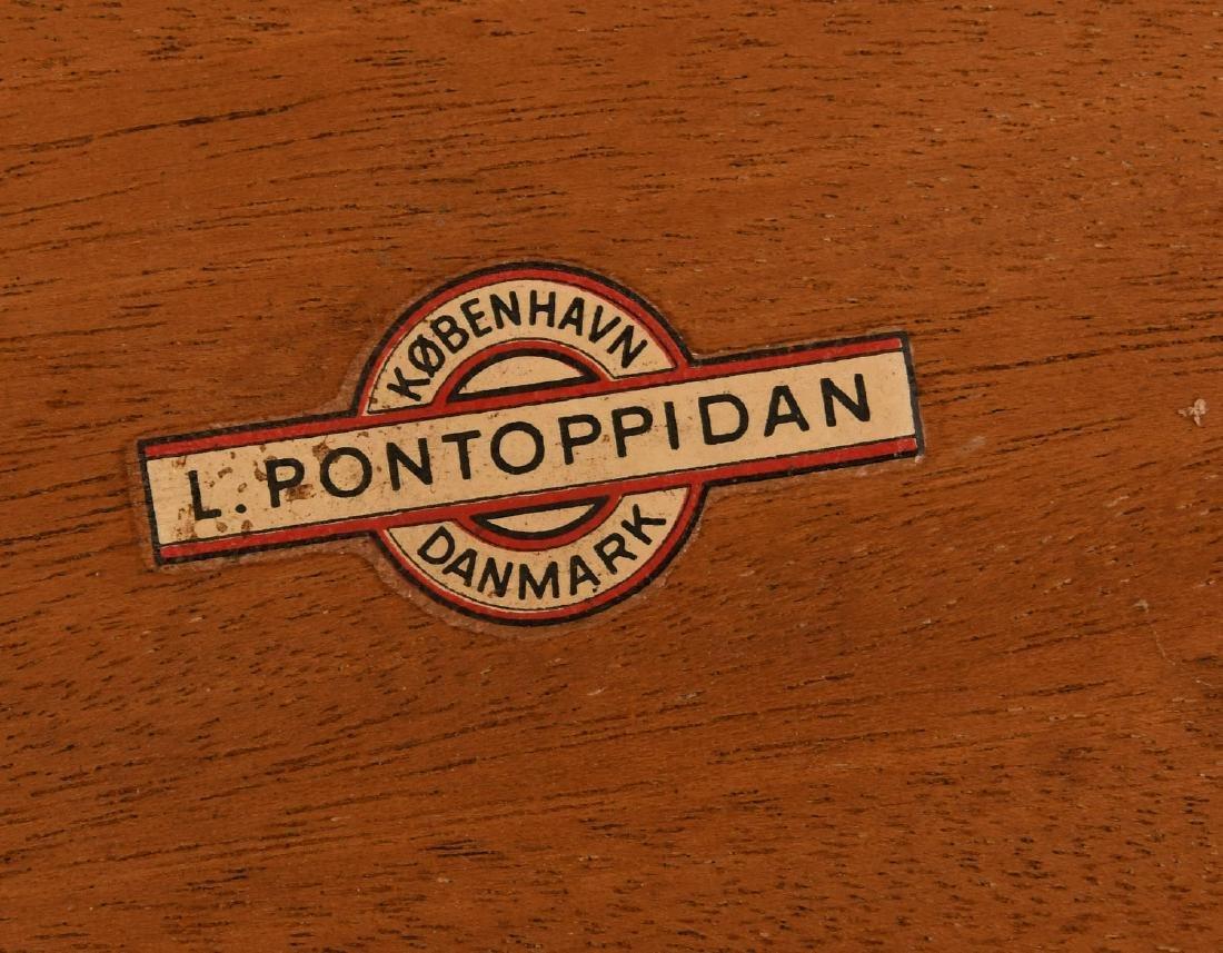 Set (3) Ludvig Pontoppidan teak nesting tables - 6