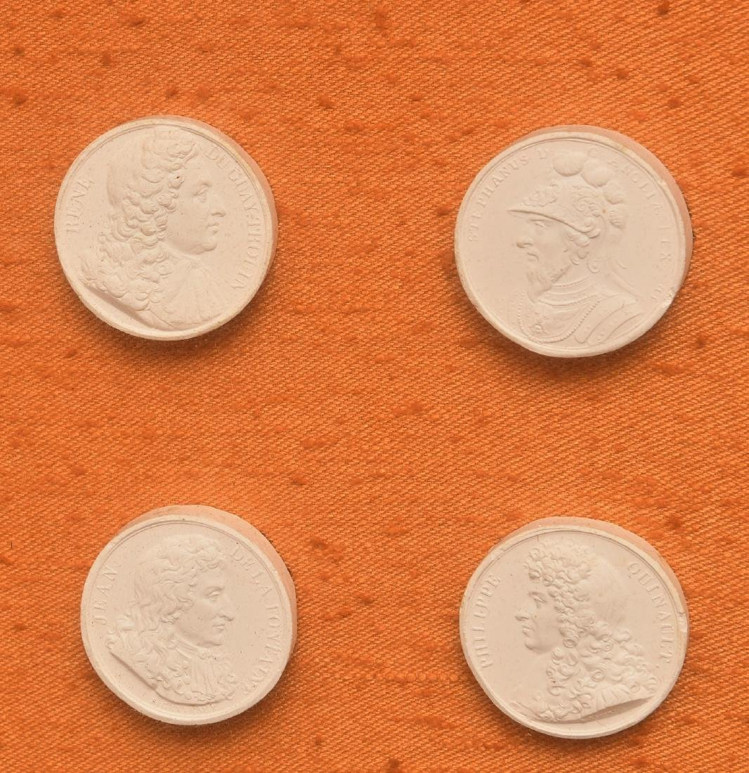 Collection (16) Neo-classical plaster intaglios - 2
