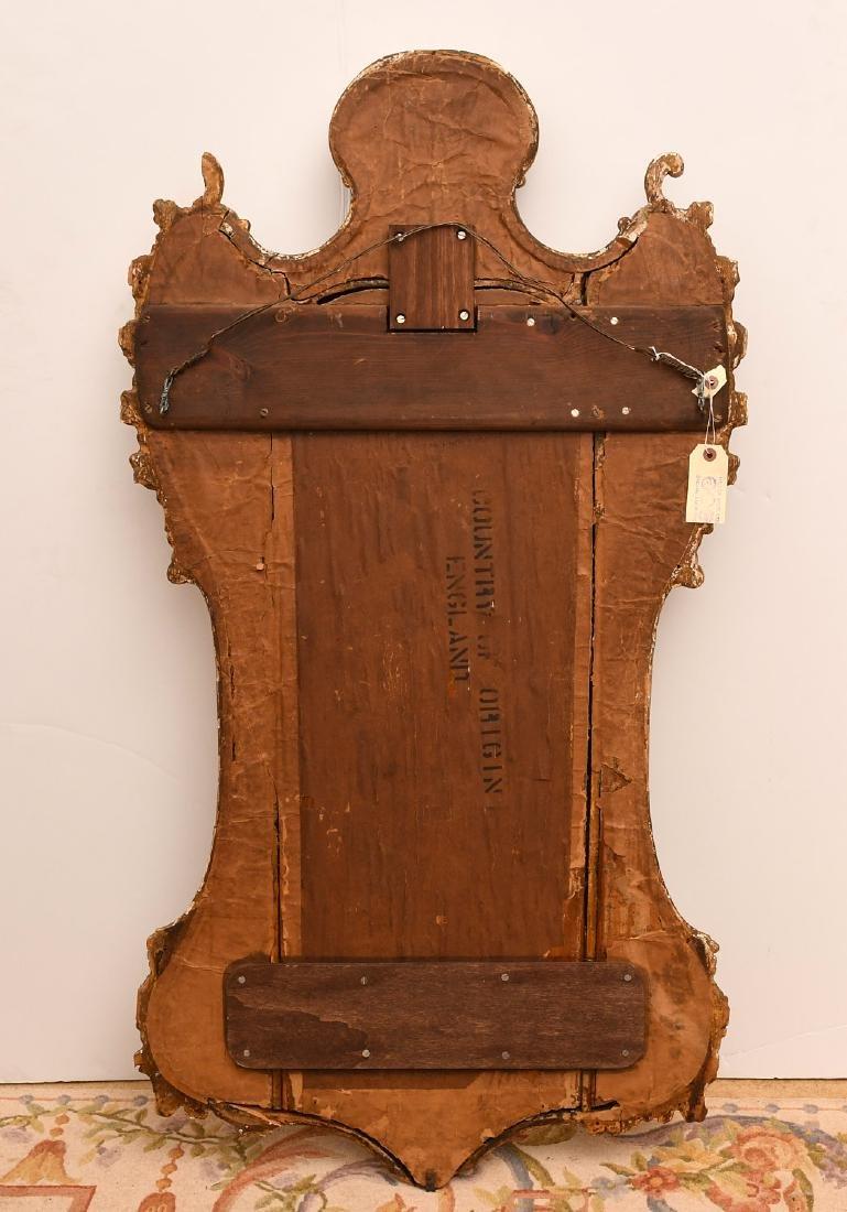 George II giltwood pier mirror - 6
