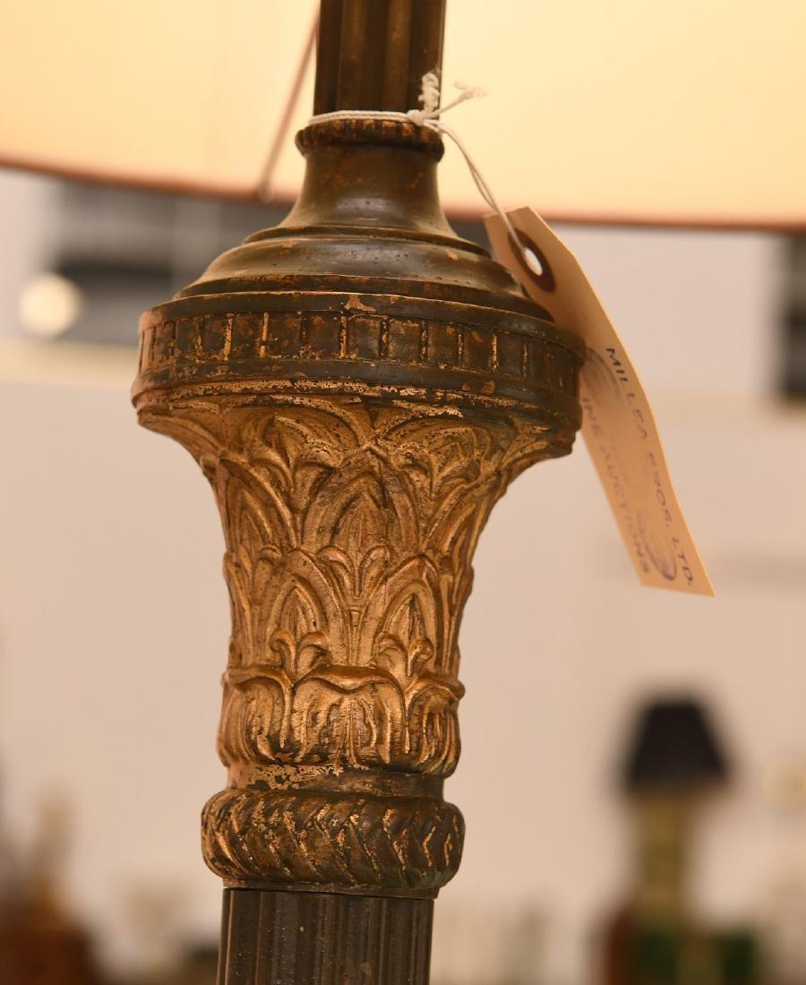 Nice Neo-Classical style gilt bronze floor lamp - 3