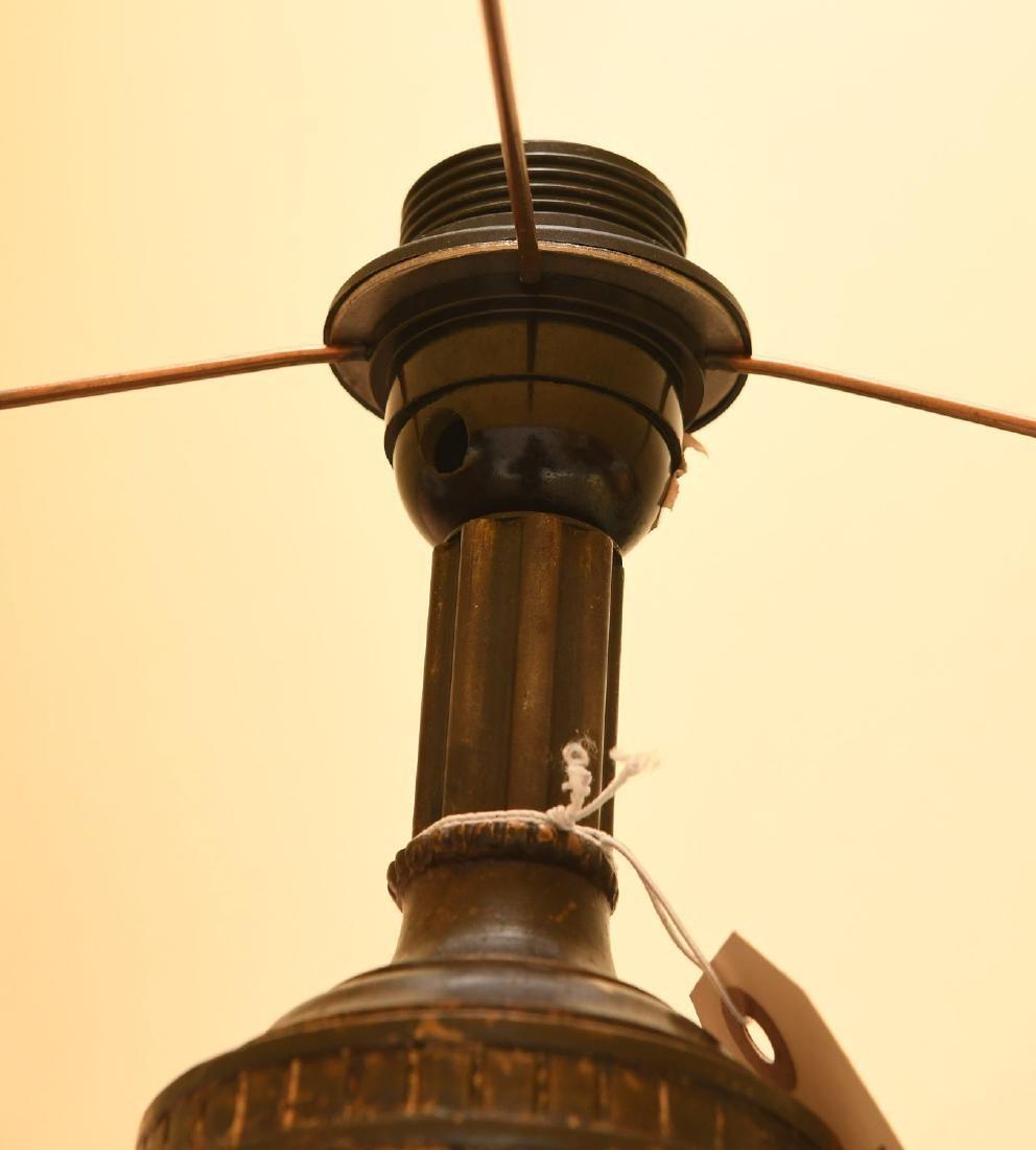 Nice Neo-Classical style gilt bronze floor lamp - 4