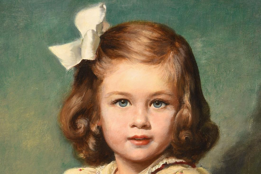 Louise Altson, (2) portrait paintings - 3