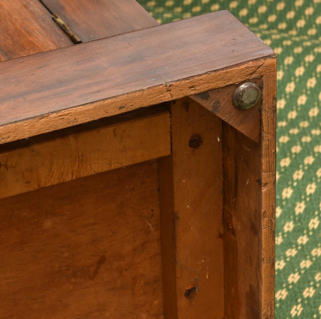 Empire mahogany cylinder desk - 10