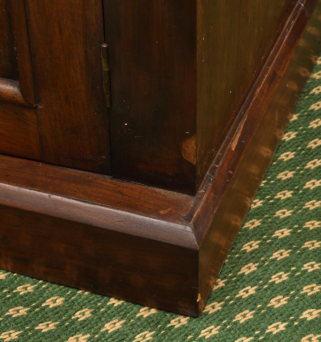 Empire mahogany cylinder desk - 7