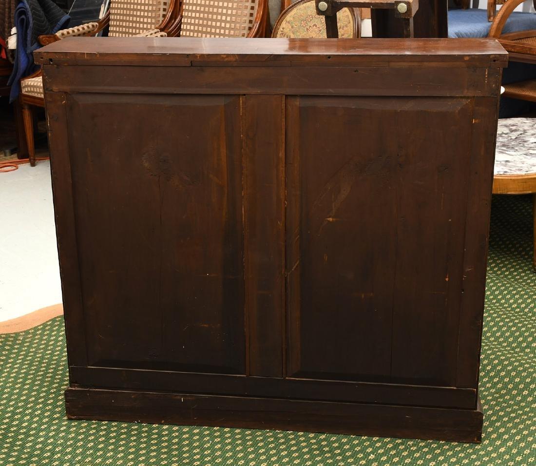 Empire mahogany cylinder desk - 8